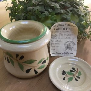 The Gourmet Potter dip chiller warmer
